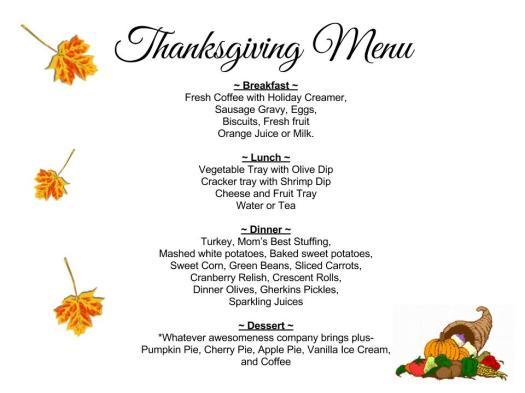 Thanksgiving Menu (1)